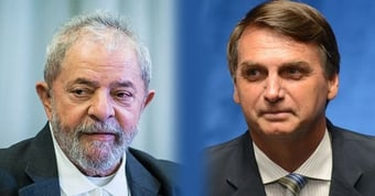 IMAGEM: Os palanques de Lula e Bolsonaro no Rio Grande do Sul