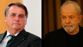 IMAGEM: Os palanques de Lula e Bolsonaro na Bahia