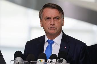 IMAGEM: Bolsonaro no Ministério da Economia