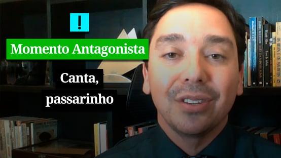 MOMENTO ANTAGONISTA: CANTA, PASSARINHO!