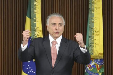 """Temer: """"Se o povo decidir que é Lula, tá decidido"""""""