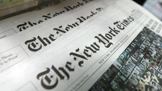 Governo Trump teve acesso secreto a registros telefônicos de repórteres do NYT
