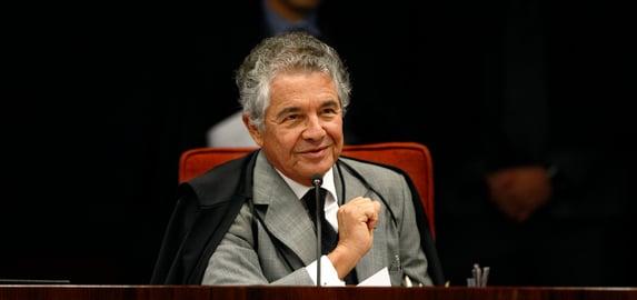"""""""O candidato indicado pelo presidente se autoconcedeu o título de desembargador"""", diz Marco Aurélio"""