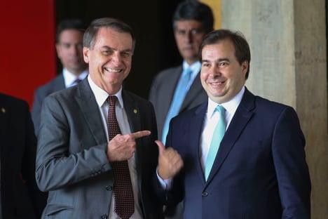 """Maia, sobre Bolsonaro e caso Marielle: """"Não é papel da Câmara analisar esse tipo de fato"""""""