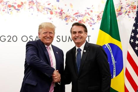 "Bolsonaro confia em ajuda de Trump: ""Sou diplomata"""