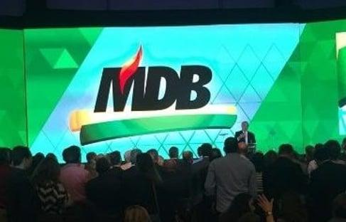 Longe das conversas para 2022, o MDB está zureta