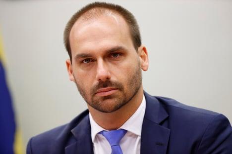 Cuidado, que eu vou ser eleito governador, diz Eduardo a petistas