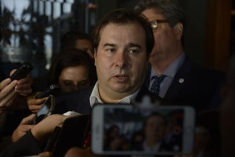 """Maia diz que tentará """"construir maioria"""" para aprovar proposta de Toffoli"""