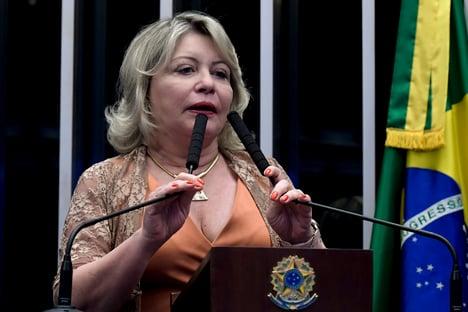 Cassada pelo TSE, Selma Arruda receberá R$ 33,7 mil até fevereiro