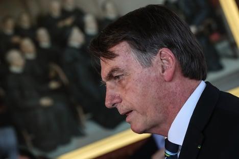Em repouso, Bolsonaro recebe Mourão
