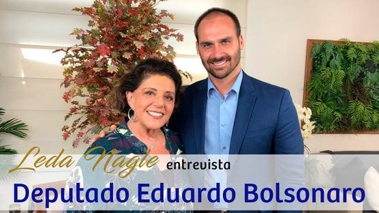"""EDUARDO BOLSONARO PEDE DESCULPAS: """"NÃO EXISTE RETORNO DO AI-5"""""""