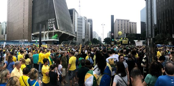 Avenida Paulista ficará com bolsonaristas em 7 de setembro