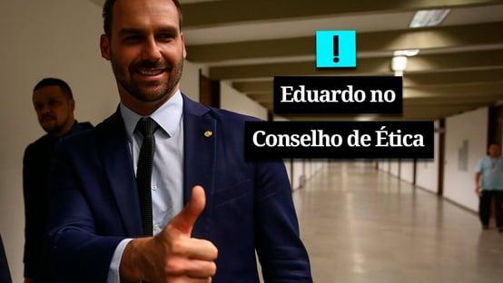 Vídeo: Eduardo enfrenta Conselho de Ética por AI-5