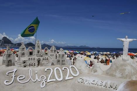 Toffoli libera show gospel em Copacabana