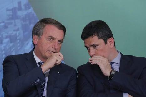 Bolsonaro brinca com Moro presidente em 2027
