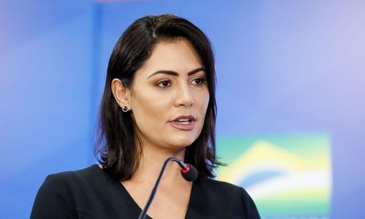 Governo reduz biblioteca do Planalto para abrigar Michelle Bolsonaro
