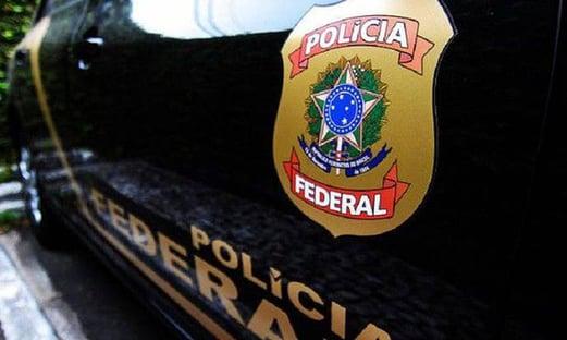 Polícia Federal em escritório do IRB