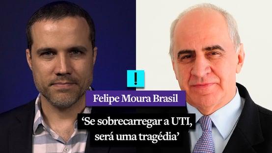 """""""Se sobrecarregar a UTI, será uma tragédia"""", diz Dr. J. J. Camargo"""