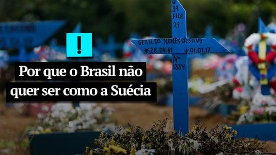 Vídeo: por que o Brasil não quer ser como a Suécia