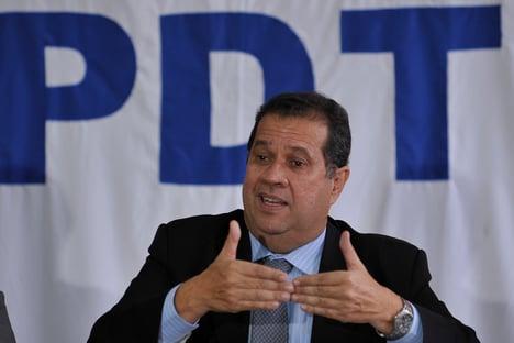 """Presidente do PDT, sobre reunião do centro: """"Na próxima eu irei"""""""