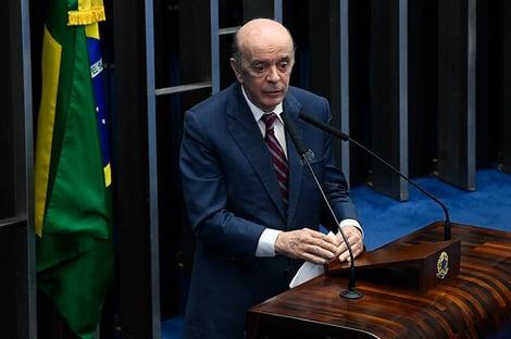 """""""Foi uma pena, uma imensa pena"""", diz Serra sobre morte de Bruno Covas"""