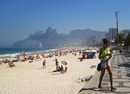 Prefeitura do Rio proíbe música e queima de fogos na orla no Réveillon
