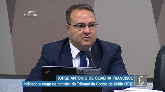 """Jorginho critica o que considera """"ativismo fiscalizatório"""" do TCU"""