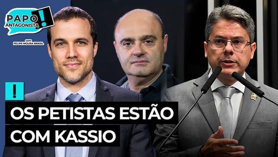 """Vídeo: """"A materialização do cruzamento de interesses"""" – PAPO com Alessandro Vieira e Mario Sabino"""