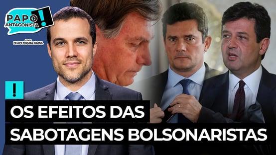 AO VIVO: CAIU A 'MÁSCARA' DE BOLSONARO – Papo Antagonista com Diogo Mainardi