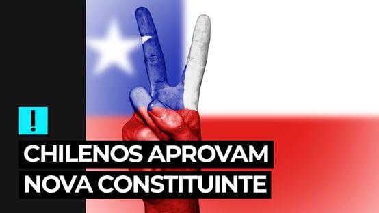 Vídeo: chilenos aprovam nova Constituinte