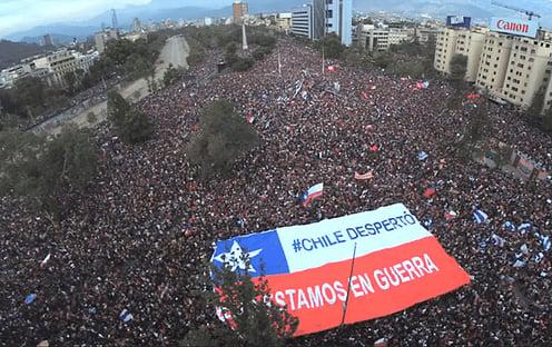 Chile flerta com a esquerda radical