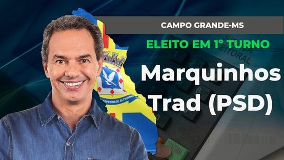 CAMPO GRANDE: MARQUINHOS TRAD É REELEITO