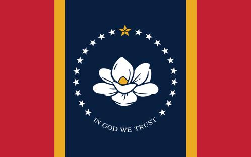 Eleitores no Mississippi trocam a bandeira, que tinha a marca dos Confederados