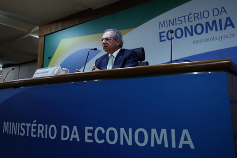 """""""Isso é decisivo, não pode"""", diz Guedes sobre cisão de Economia"""