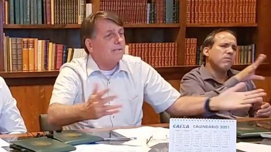 """Bolsonaro: """"Não vai ter vacina para todo mundo"""""""