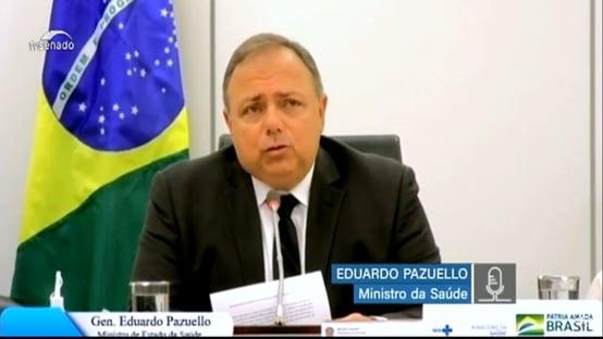 Covid-19: Pazuello fala em poucas opções de vacina para o Brasil