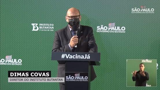 AO VIVO – Coletiva de imprensa: anúncios sobre a vacina do Butantan