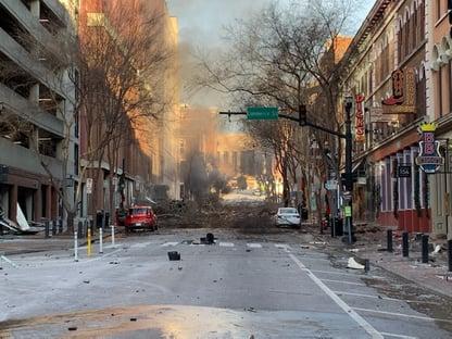 Explosão intencional em Nashville, nos EUA, deixa ao menos 3 feridos