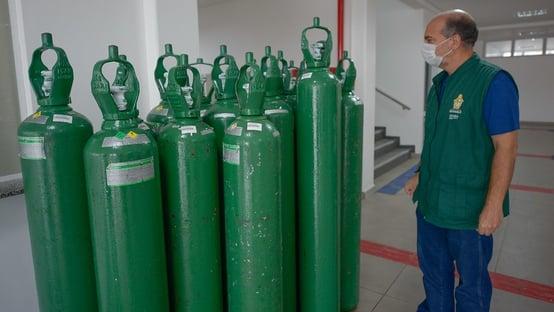 47% dos municípios podem ter falta de oxigênio nos próximos dias