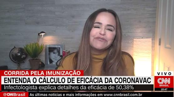 """""""Não é nenhuma Ferrari, mas é um Uno"""", diz epidemiologista sobre Coronavac"""