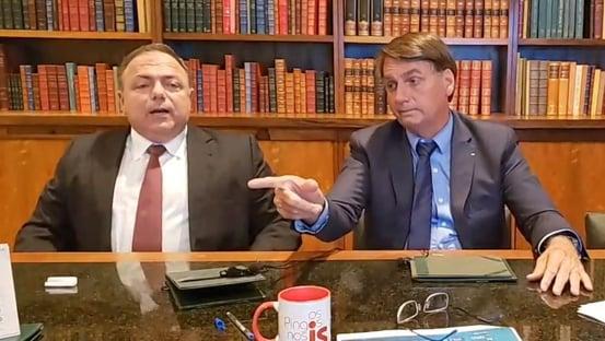 Bolsonaro manda Pazuello impedir que prefeitos e governadores comprem vacinas