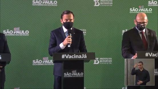 """Coronavac em 25 de janeiro – ou """"ainda antes"""""""