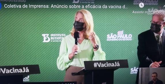 """""""A gente tinha muita convicção de que a vacina era segura"""", diz Rosana Richtmann"""
