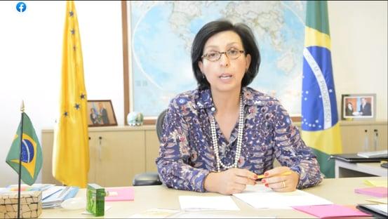 Renan quer ouvir embaixadora que representou o Brasil na OMS