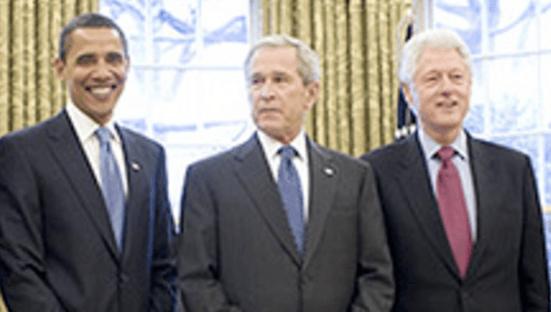 Clinton, Bush e Obama irão à posse de Biden