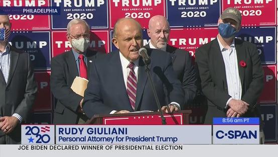 Smartmatic processa Fox News e Rudy Giuliani