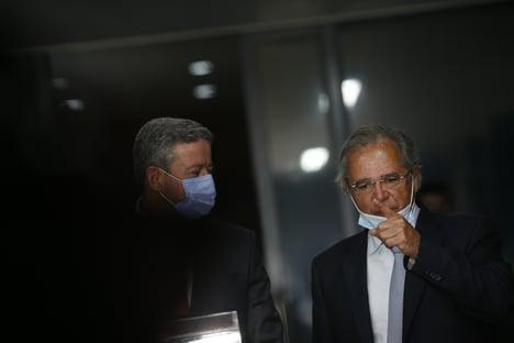"""Exclusivo: """"Lira tem sido a mais importante liderança do Congresso para a economia"""", diz Guedes"""