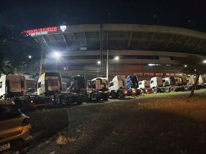 Bolsonaro pede desmobilização de caminhoneiros