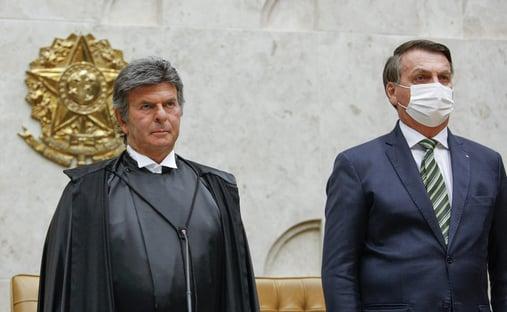 Bolsonaro vai ao STF para conversar com Fux