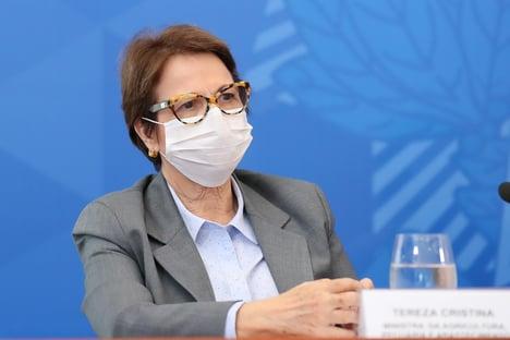 China adotou agenda ambiental e Brasil será afetado, diz Tereza Cristina